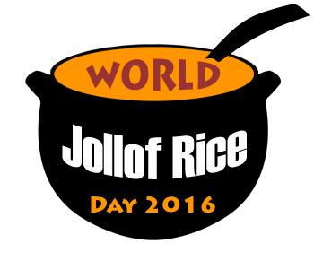 World Jollof Rice Day Logo