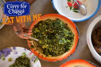 Eat with me. Curry for change