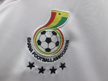 ghana football shirt logo black star