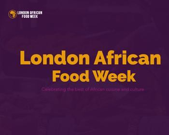 London African Food Week 2019 Logo
