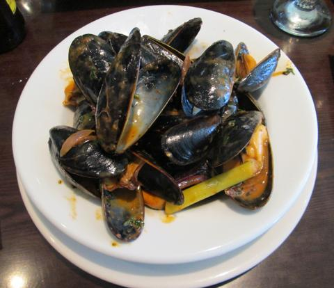 Mussels from Ponty Bistro